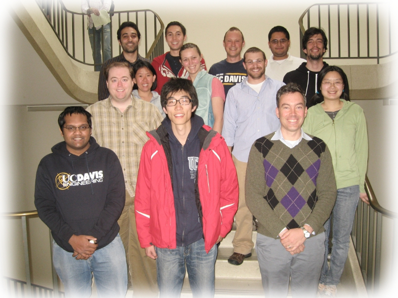 UC Davis MEMS Lab Group 2011