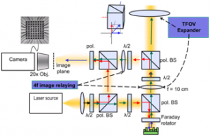 10 MHz Optical Phased Array Metrology and Control